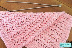 Nome:  Pine Forest Baby Blanket     Receita em inglês do ponto:  Ingrid A. Artun     Receita em português:  Blog By Day    Glossár...