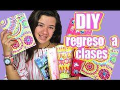 5 chulísimas ideas para decorar cuadernos de regreso a clases - YouTube