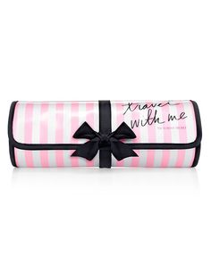 travel with  me ... yes please!......VS Stripe Travel Roll - Victoria's Secret - Victoria's Secret