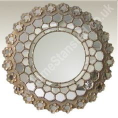 This Is A Decorative Wall Mirror Rectangular Inlay With Cherub Picture And Part