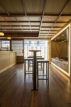 Cafe Kitsune Tokyo is popular with locals and tourists alike who nibble mini baguette sandwiches in between marathon shopping sessions in the trendy neighborhood.