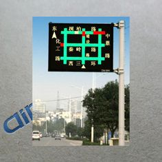 Outdoor Display Dynamic Route Information Panels Dynamic Screen Traffic Led Message Sign