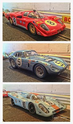 Some of my slot cars  Photo: Steve turner Photography.
