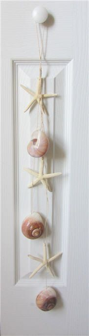 Beach Decor Starfish and Shell Garland by CereusArt on Etsy, $10.00