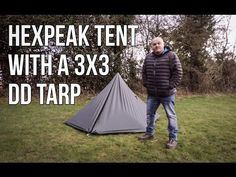 How to set up your DD 3mx3m Tarp like a Tent - YouTube