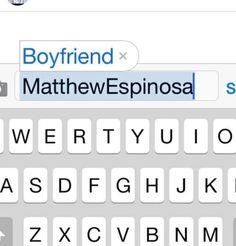 he's basically my life Matthew Espinosa, Magcon Boys, Love Ya, My Life, Boyfriend, Funny, Husband, Internet, Heart