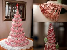 Candy Cane Christmas Tree | DIY Cozy Home
