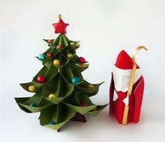 ¿Te gustaría hacer tu proprio árbol de Navidad DIY? Descubre cómo puedes hacerlo con estos tutoriales en vídeo http://youtu.be/3iKH51bUVQs