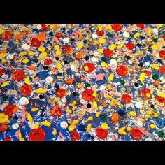 Campo de amapolas sobre fondo azul#art #arte #artist #artiste #colors #barcelonaart #colores#news #abstract #arteabstracto #artwork #artlovers #oil #top #tendencias #culture #cool #chic #contemporaryart #style #singular #culture #cultura #expresionism #abstractart #colors #barcelona #painting #oilpainting #paint #artworks #arts