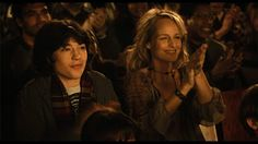 Helen Hunt (Jeannie) and Ezra Miller (Jonah) in a scene from Richard Levine's EVERY DAY.