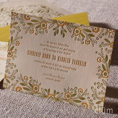 Meadow Invitation