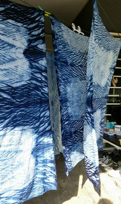 shibori indigo. by. saruda kantawong.(ศรุดา กันทะวงค์) ออกแบบลายผ้ามัดย้อม และสอนมัดย้อมสไตล์ชิโบริ โทร.092-3969644 FB. saruda katawong.