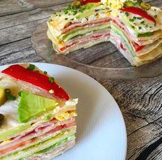"""4,658 Me gusta, 64 comentarios - RecetasArgentinas 🇦🇷 (@recetasargentinas) en Instagram: """"Torre de Panqueques Ingredientes para aproximadamente 15 panqueques: Huevos 2 Harina 220 gramos…"""" Relleno, Pancakes, Sandwiches, Nutrition, Breakfast, Healthy, Food, Natural, Instagram"""