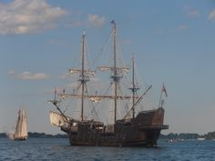 El Galeon and the Pride of Baltimore II