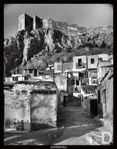 Athens, Anafiotika, Greece Greece Pictures, Old Pictures, Old Photos, Vintage Photos, Greece Photography, Cradle Of Civilization, Greek History, As Time Goes By, Acropolis