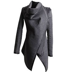 Partiss Womens Slim Fit Trench Coat, S, Gray Partiss http://www.amazon.com/dp/B00SMIJMTM/ref=cm_sw_r_pi_dp_yMPcvb0SZ7P53