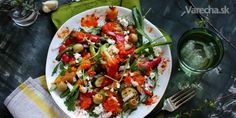 Šalát z grilovanej zeleniny - Recept