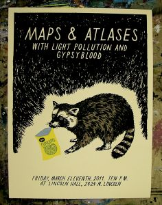 GigPosters.com - Maps & Atlases - Light Pollution - Gypsyblood