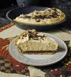 Weight Watchers Recipes: Peanut Butter Pie Recipe with Chocolate Chips~7 Points Plus Value