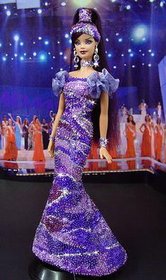 Miss Brazil Barbie Doll  2009