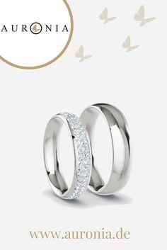 #Eheringe, 925 Silber, 88 x Brillant G-VS 0,010 ct