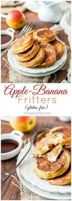 Apple Banana Fritter