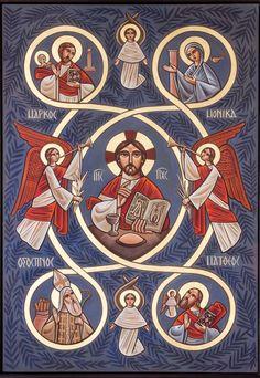 Iconen koptisch orthodoxe kerk. Orthodox Prayers, Orthodox Christianity, Christian Paintings, Christian Art, Religious Icons, Religious Art, Christian Pictures, Spiritus, Byzantine Icons
