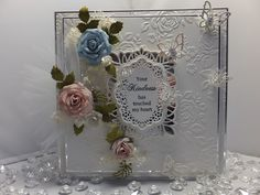Drakes Field Cards: Your Kindness. Note the layered embossed mats. Flower Cards, Drake, My Favorite Things, Decorative Boxes, Sue Wilson, Creative, Crafts, Beautiful, Card Designs