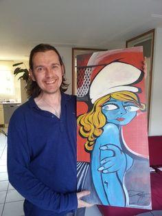 Kurt218 | Pintor y Escultor: Blue Paradise Smurf
