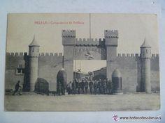 GUERRA DE AFRICA : POSTAL COMANDANCIA DE ARTILLERIA DE MELILLA , 1921 (Postales - Postales Temáticas - Militares)