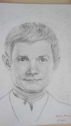 Martin Freeman by Livvais.deviantart.com on @DeviantArt