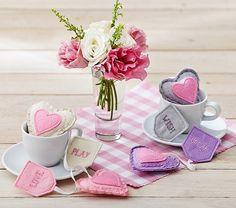 Make these: Tea Bag Set   Pottery Barn Kids