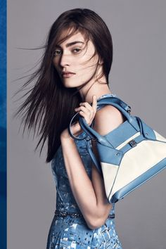 Akris Campaign SS 2015 - Marine Deleeuw by Lachlan Bailey