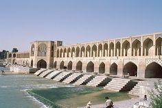 The Khaju Bridge, Isfahan, Iran