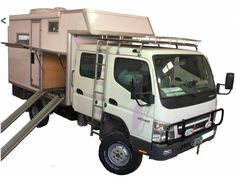 Mitsubishi Canter Double Cabin 4x4 Camper