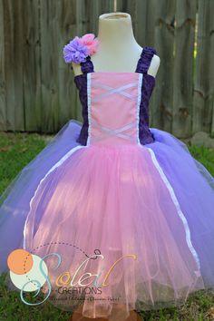 Girls Rapunzel Birthday Dress by SCbydesign on Etsy, $69.99