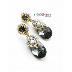 Diane earrings - inst. dload beading pattern Pearl Earrings, Drop Earrings, Beading Patterns, Pearls, Handmade, Jewelry, Fashion, Moda, Pearl Studs