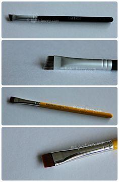 Кисти для подводки глаз Larenim и Bdellium Tools http://light-berry.com/eyeliner-brushes-larenim-and-bdellium-tools/