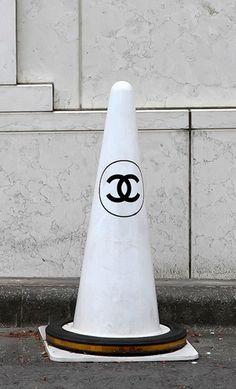 Chanel traffic cone #Luxury www.albertalagrup.com
