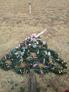 mothers grave blanket