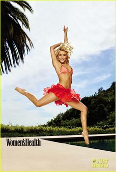 julianne hough womens healthy hopelessly devoted 01 Julianne Hough lets her bum do all the talking on the July/August 2015 cover of Women's Health magazine.     Here's what the 26-year-old Dancing With The Stars…