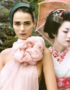 Modern meets Traditional #geisha