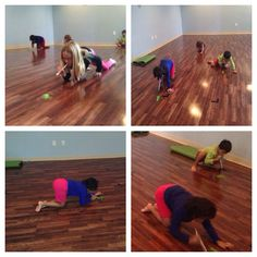 Feather Race in Kids Yoga! Kids get a feather and a straw then they have to blow the feather down to the finish line. This is a great way to practice conscious breathing. Therapy Activities, Infant Activities, Kundalini Reiki, Preschool Yoga, Yoga Games, Reiki Training, Childrens Yoga, Yoga Lessons, Baby Yoga