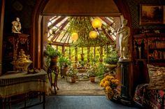 Mark Twain's Conservatory, Hartford, CT //  Photo byFrank C. Grace (Trig Photography)