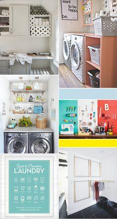 Urbanwalls Blog - blog - Spring Cleaning ++ An Organized LaundryRoom