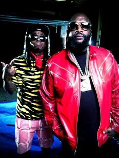 Wayne nd Rick Ross