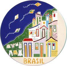 Prato p/presentear estrangeiro Custom Web Design, Gadgets, Mini Paintings, Create Website, Paper Clay, Pottery Painting, Plates And Bowls, Handmade Pottery, E Commerce