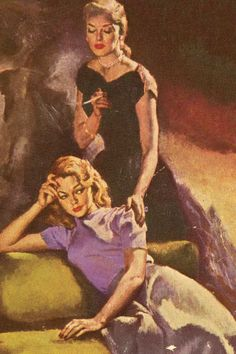 Even today, Todd Haynes's mesmerizing adaptation of Patricia Highsmith's classic novel comes as a shock—mostly for how much lesbian culture remains invisible to America at large. Vintage Lesbian, Lesbian Art, Lesbian Love, Gay Art, Pulp Fiction Art, Pulp Art, Vintage Posters, Vintage Art, Patricia Highsmith