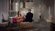 Reclaimed wood has never looked so good in Breakfast at Tiffany's highbrow-meets-very-lowbrow...