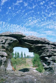 The Window - a rock formation near Graskop, Mpumalanga province, South Africa